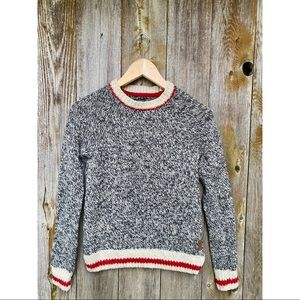ROOTS cabin classic crewneck sweater size XS